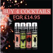 Buy 4 Cocktails for £14.95