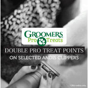 Double Pro Treat Points on Selected Andis Clippers