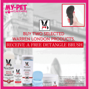 Buy Two Selected Warren London Products, Get a Free Detangle Brush