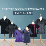 Selected Groomers Workwear Only £21.99