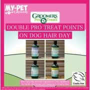 Double Pro Treat Points On Dog Hair Day Shampoo