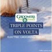 Triple Points On Volta Electric Grooming Tables