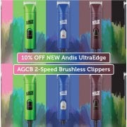 10% Off New Andis AGCB 2-Speed Clippers