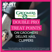 Double Pro Treat Points On Groomers Nail Clippers