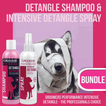 Detangle Shampoo & Intense Detangle Spray 250ml Set - NEW