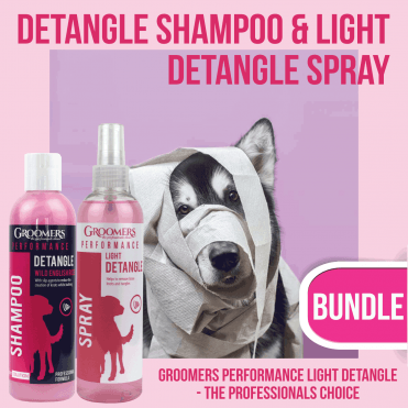 Detangle Shampoo & Light Detangle Spray 250ml Set - NEW