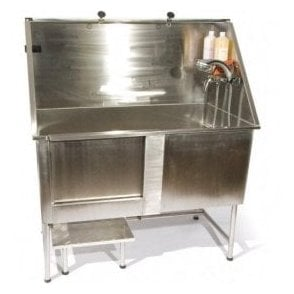 Easy Step Manual Stainless Steel Bath