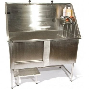 Easy Step Static Stainless Steel Bath