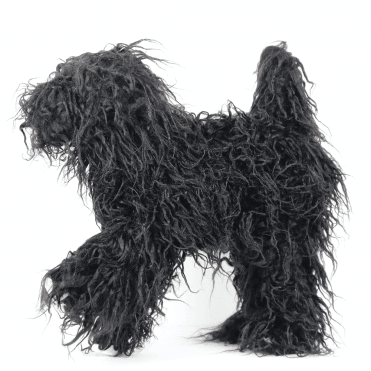 'Groom-Me' Training Dog - Black - NEW
