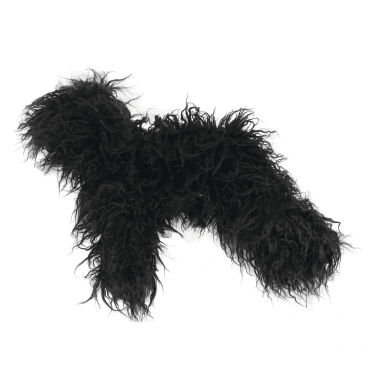'Groom-Me' Training Dog Replacement Fur (2 Pack) - Black - NEW