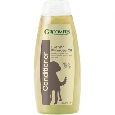 Groomers 1% Evening Primrose Oil Conditioner - Retail Size (300ml)
