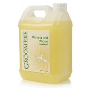 Groomers Banana and Mango Shampoo