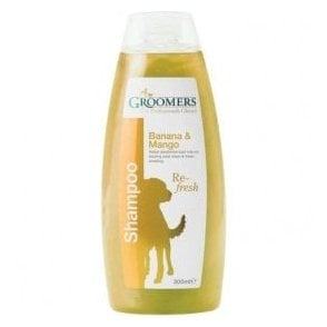 Groomers Banana and Mango Shampoo - Retail