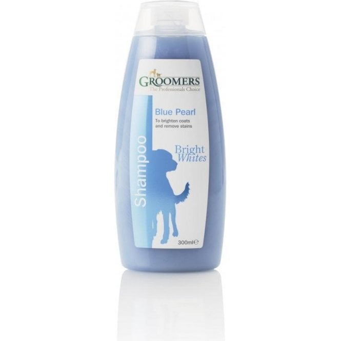 Groomers Blue Pearl Colour Enhancing Shampoo For White Coats