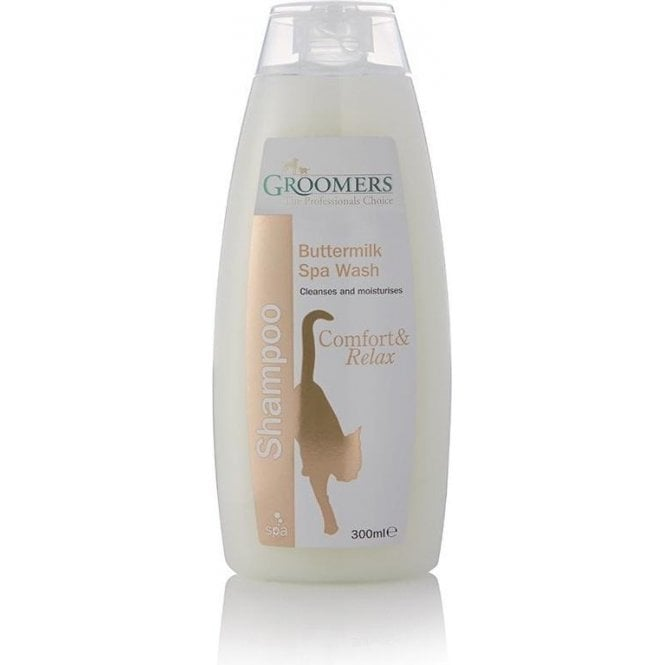Groomers Buttermilk Spa Wash Shampoo - Retail Size (300ml)