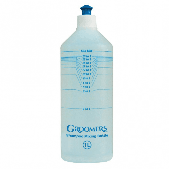 Groomers Calibrated Mixing Bottle 1L