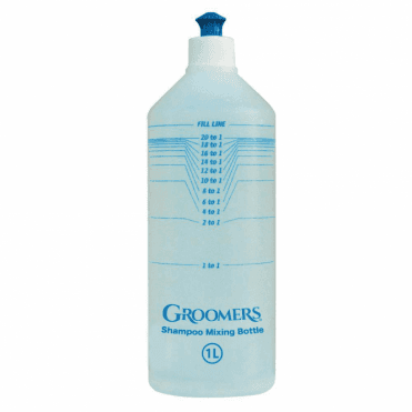 Groomers Calibrated Mixing Bottle