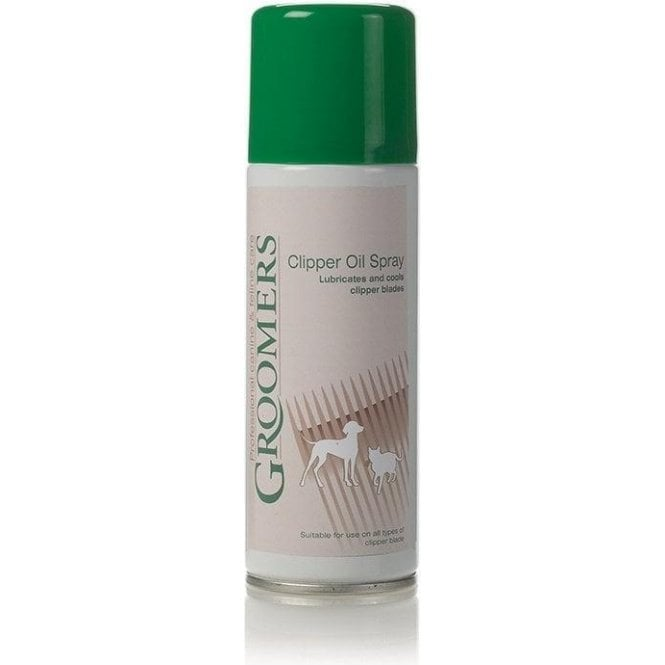Groomers Clipper Oil Spray
