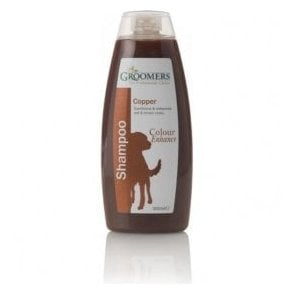 Groomers Colour Enhancing Shampoo for Brown & Copper Coats - Retail