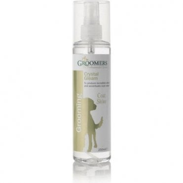 Groomers Crystal Gleam Coat Shine Spray - Retail Size (250ml)