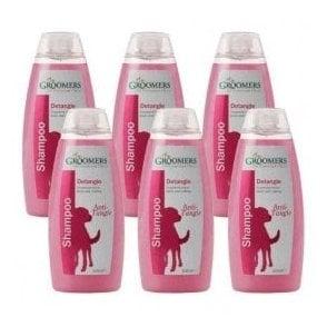 Groomers Detangle Shampoo Six Pack