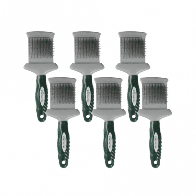 Groomers Double Sided Slicker Brush Six Pack
