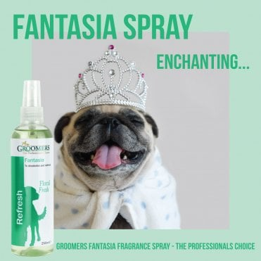 Groomers Fantasia Fragrance Spray 250ml