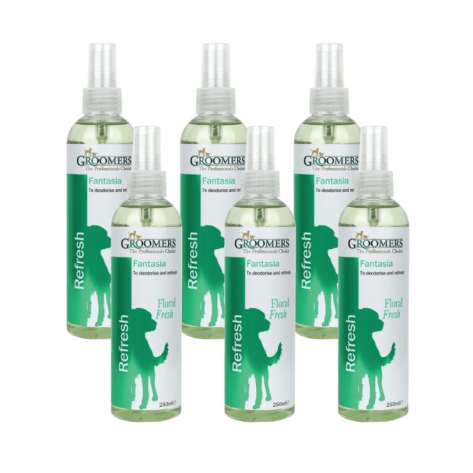 Groomers Fantasia Spray Six Pack