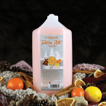 Groomers Festive Zest Christmas Shampoo – NEW LIMITED EDITION