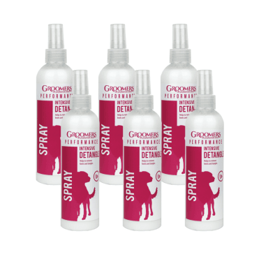 Groomers Intensive Groom and Detangle Spray Six Pack