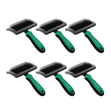 Groomers Large Slicker Brush Six Pack - NEW