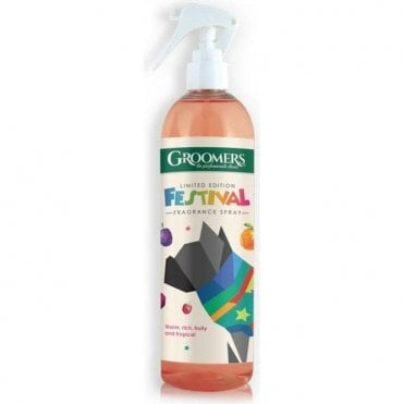 Groomers Limited Edition Festival Fragrance Spray