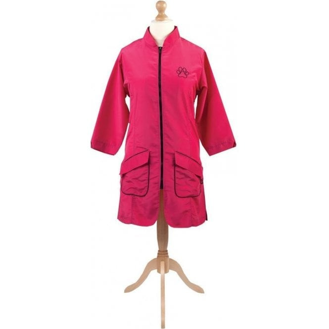 Groomers Mandarin Collar Long Jacket