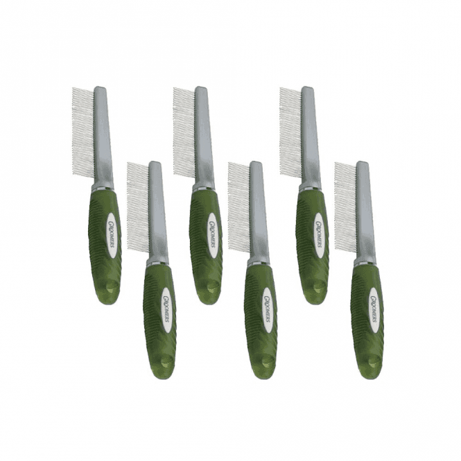 Groomers Medium Comb Six Pack