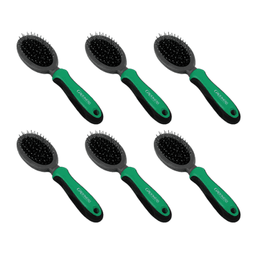 Groomers Medium Pin Brush Six Pack - NEW