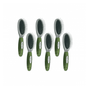 Groomers Medium Pin Brush Six Pack