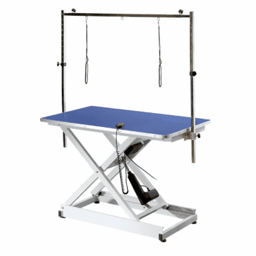 Groomers Metro Electric Table - Blue Table Top