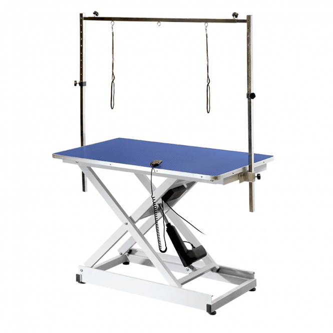 Groomers Metro I Electric Table - Blue Table Top