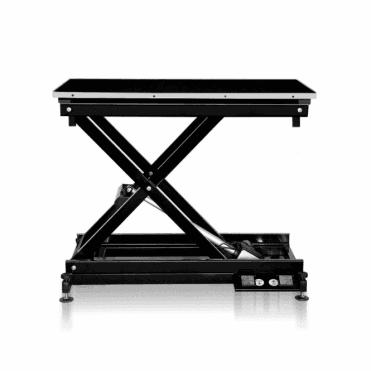Groomers Metro II ExLo Electric table – Black Frame, Black Table Top