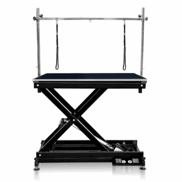 Groomers Metro II ExLo Electric Table – Black Frame, Black Table Top