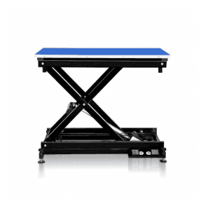 Groomers Metro II ExLo Electric Table – Black Frame, Blue Table Top - NEW