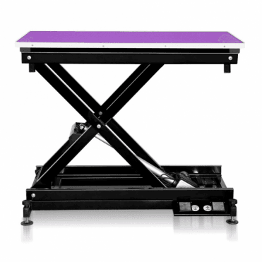 Groomers Metro II ExLo Electric Table – Black Frame, Purple Table Top - NEW