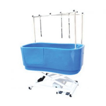 Groomers Neptune Electric Shower Bath - Electric Blue