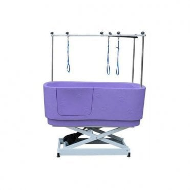 Groomers Neptune Electric Shower Bath - Purple