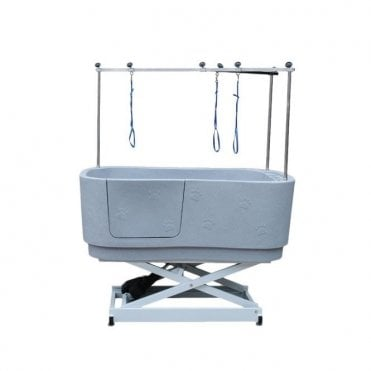 Groomers Neptune Electric Shower Bath - Space Grey