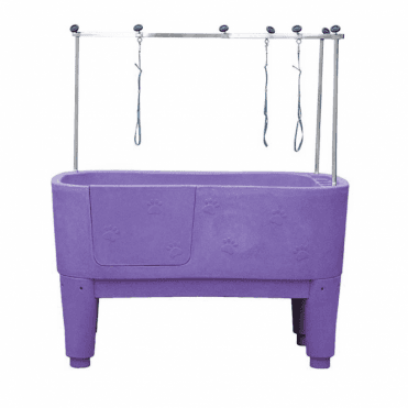 Groomers Neptune Static Shower Bath - Purple