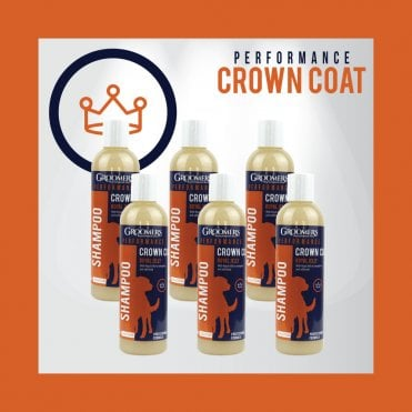Groomers Performance Crown Coat Shampoo, 250ml Six Pack