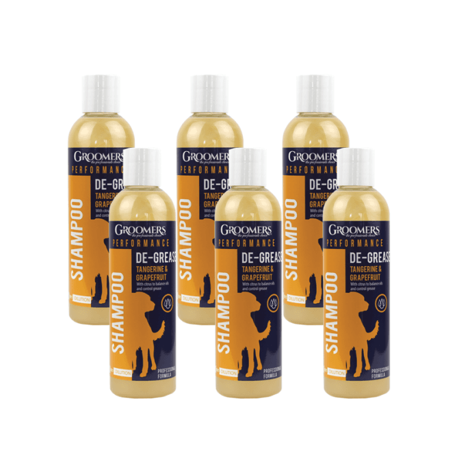Groomers Performance Degreasing Shampoo, 250ml Six Pack