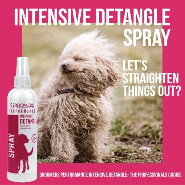 Groomers Performance Intensive Detangle Spray For Dogs - 250ml
