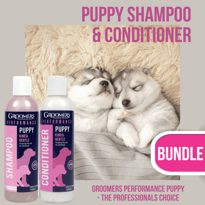 Groomers Performance Performance Puppy Shampoo & Conditioner 250ml Set